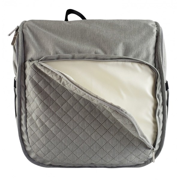 diaper bag and baby portable changing table 4