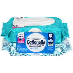 Cottonelle Flushable Wet Wipes Wankae