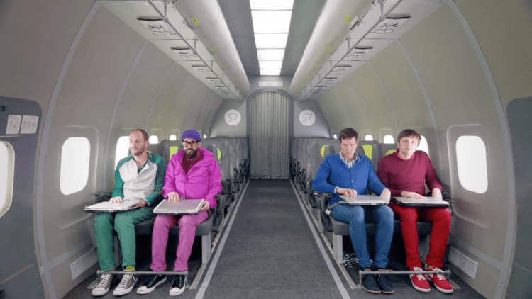ok go upside-down-inside-out-wankrmag
