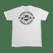 teeshirt CUMPAZ SUBVERSIVE blanc DOS