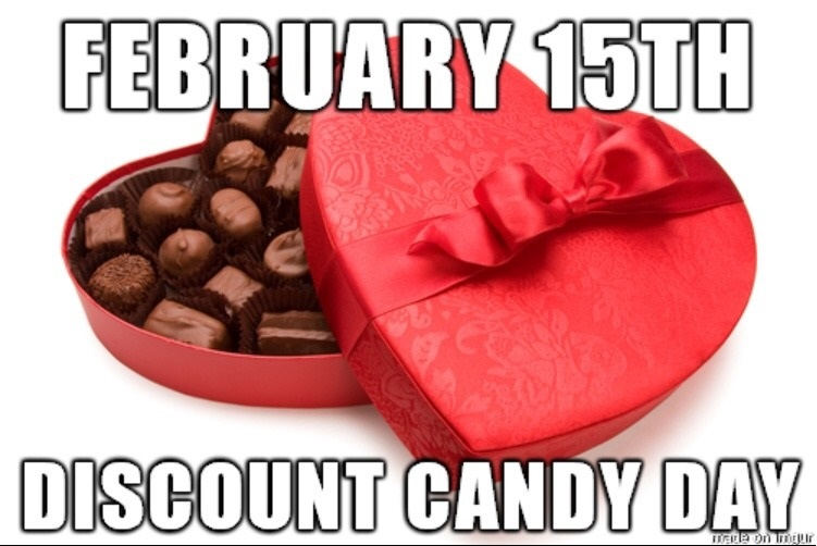 Image result for valentine's day candy sales meme