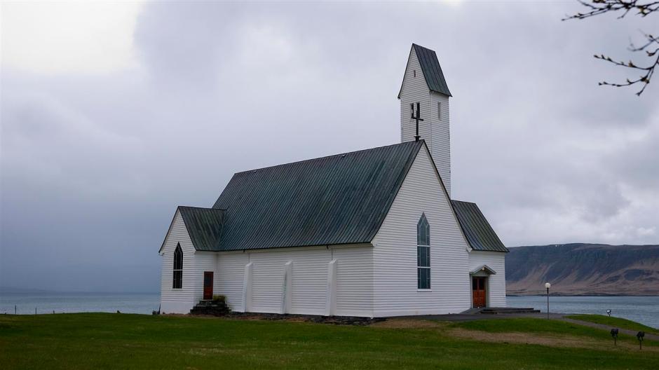 Hallgrímskirkja í Saurbæ church.