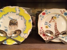 A close up of the plates!