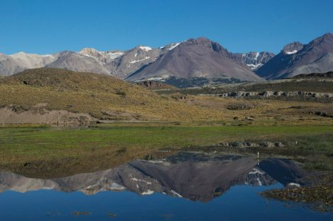 Beautiful morning on the road to Paso Roballes