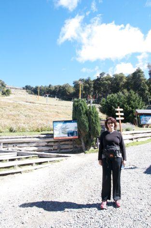 At the base of Cerro Bayo