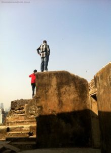 inside sion fort - Forts in Mumbai