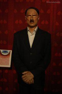Hitler - celebrity wax museum