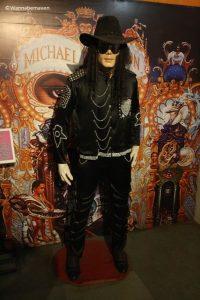Michael Jackson - celebrity wax museum