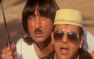 Nandu in Raja Babu - bollywood sidekicks