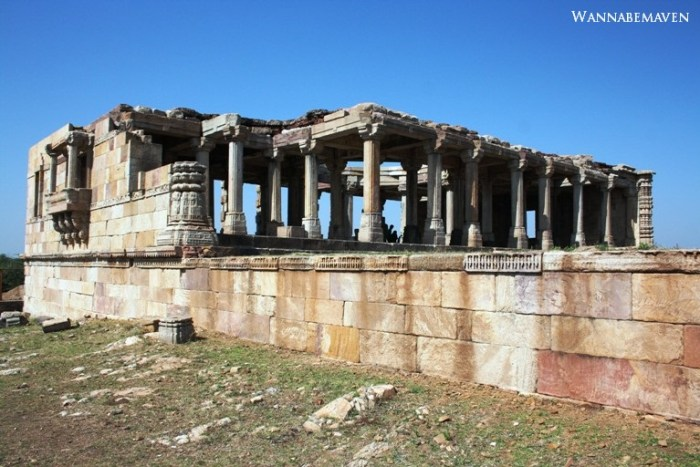 Kabootar Khaana in Champaner-Pavagadh Archaelogical park