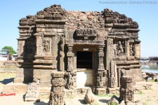 Lakulisa Temple in Champaner-Pavagad Archaelogical Park - road trips from mumbai