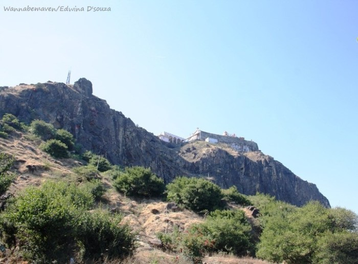 Kalika Mata Temple on Pavagad hill - champaner-pavagadh archaeological park