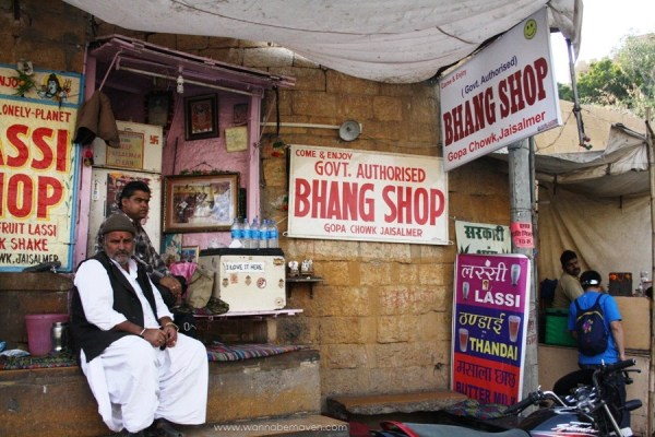 Bhang Shop Jaisalmer - Rajasthani Food in Jaisalmer