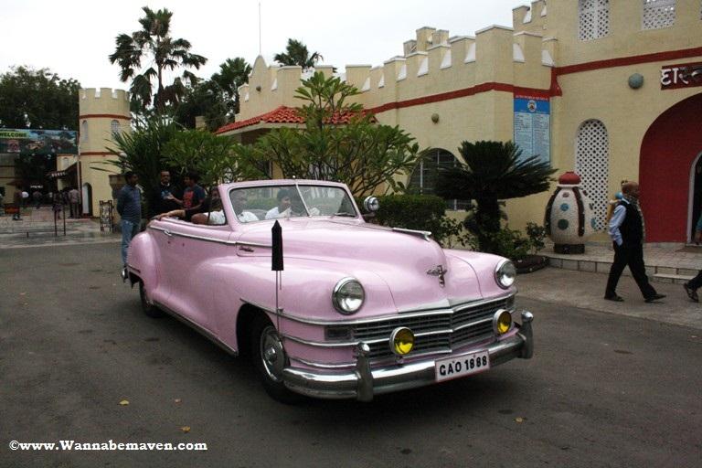 Vintage auto car museum