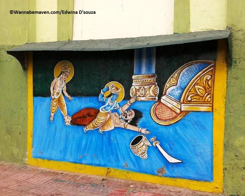 Streets of Mathura-Vrindavan - temples in mathura vrindavan
