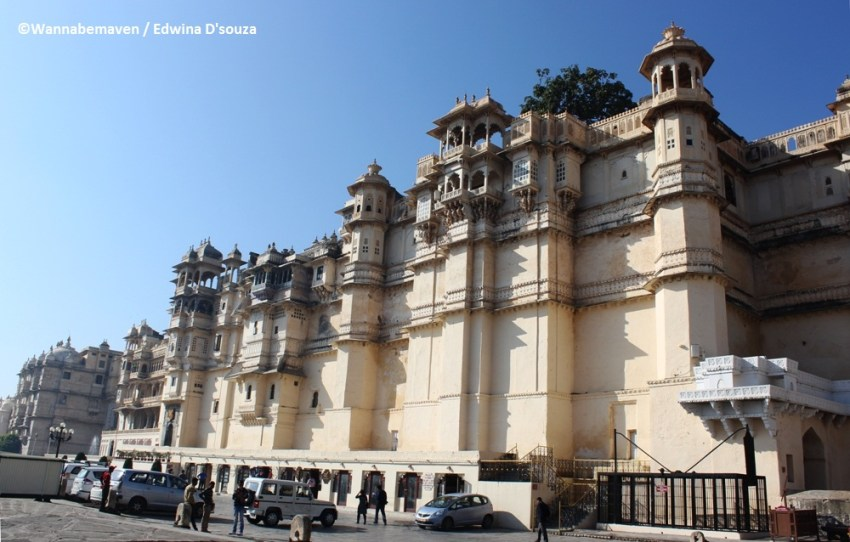 city palace - budget trip to Udaipur