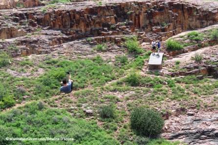 Ziplining at Mehrangarh fort