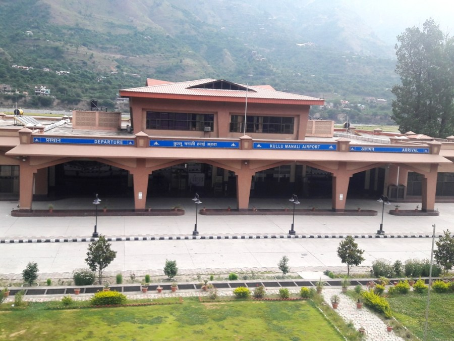 kullu manali airport - parvati valley backpacking
