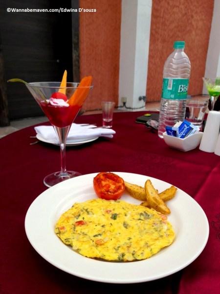 breakfast-jakson-inns-things to see in phaltan-Phaltan travel guide