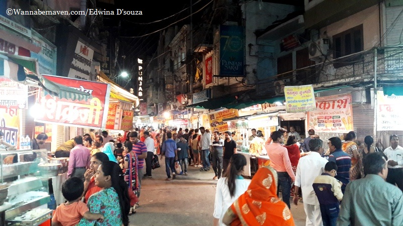 Indore food guide - sarafa bazaar