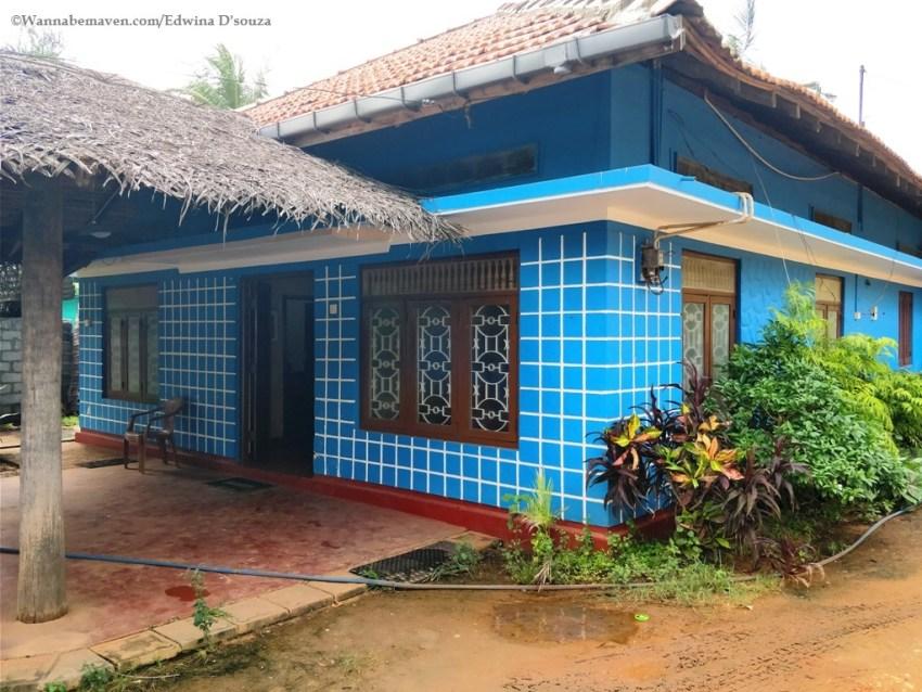 accommodation Sri Lanka-mannar-blue moon rest house