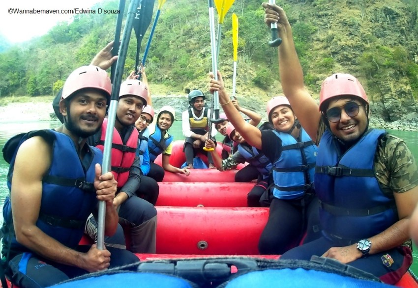 River rafting - bungee jumping in rishikesh