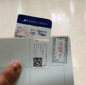 Sri Lanka visa-backpacking in sri lanka