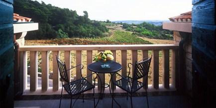 Breakfast balcony