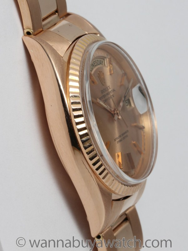 Rolex 18K PG Day Date circa 1967