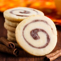 cinnamon bun cookies