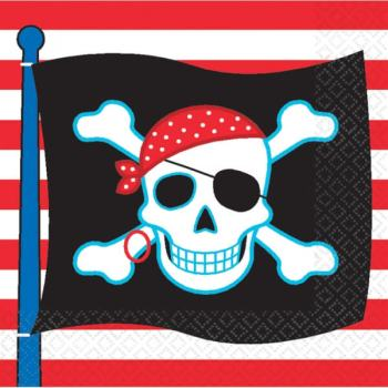 Pirate Party Lunch Napkins-0
