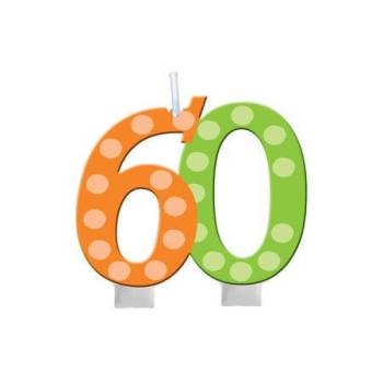 Numerical Candle 60th Birthday-0