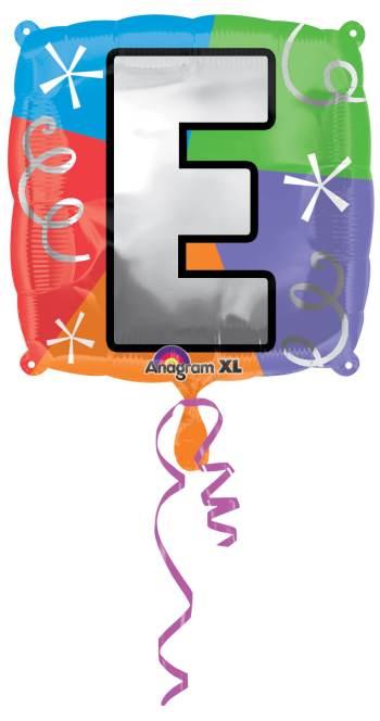"""18"""" Square Letter E Balloon S30 -0"""