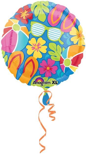 "18"" Summer Splash Balloons S40 -0"