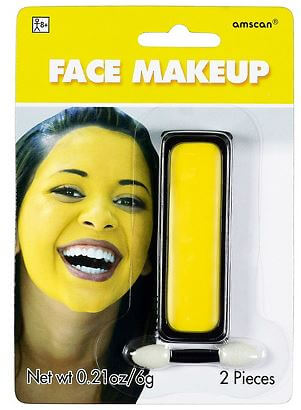 Face Paint Yellow .21oz-0