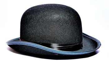 """Dhoom 3 - 'Amir Khan'"" Felt Top Hat-0"