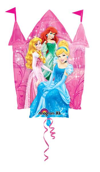 "Disney Princess Castle Supershape Balloon 36"" P38-0"