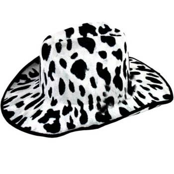 Cow Print Cow Boy Hat-0