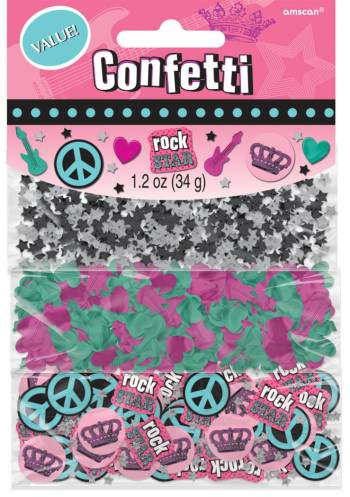 Rocker Princess Value Pack Confetti 1.2oz-0