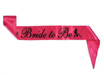 Bride To Be Fabric Sash-0
