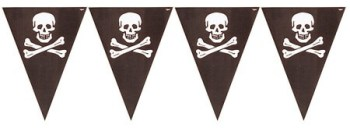 Pirates Treasure Bunting Flags - 12FT-0