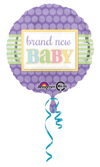 "Brand New Baby Balloon 18"" S40-0"
