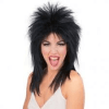 Rocker Girl Black Wig - 1PC-0