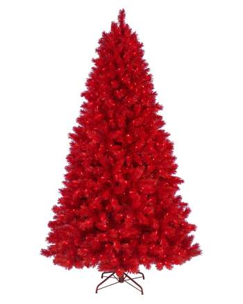 Pine Christmas Tree Red - 6FT (ONLINE ONLY)-0