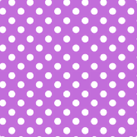Polka Dot Paper Napkins Purple - 20 PC-0