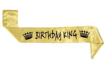 Birthday King Sash-0