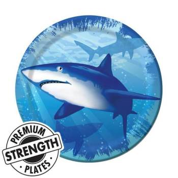 Shark Splash Dinner Plate-0