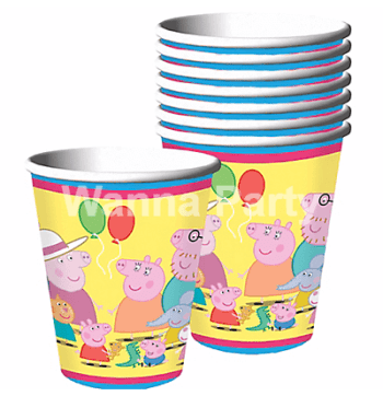 Peppa Pig Paper Cups - 8PC-0