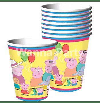 Peppa Pig Paper Cups - 8PC-0