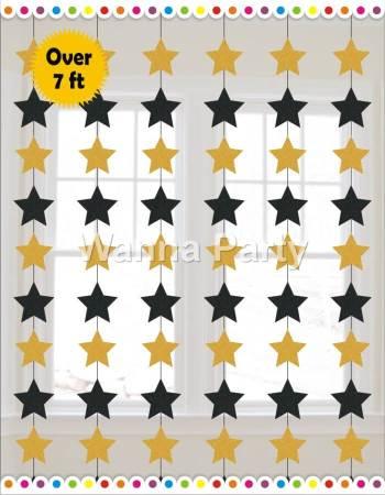 Star String Decoration 7FT - 6PC-0